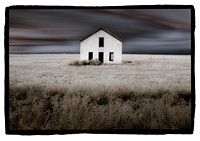 """Abandoned House on Plain"", Colorado by Dan Burkholder"